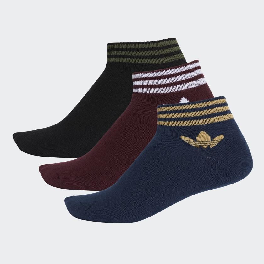 Adidas Trefoil Ankle Socks 3pairs