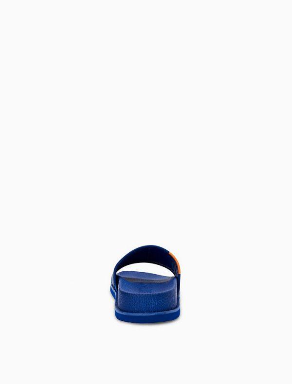 Calvin Klein Mackee Colorblock Slide on jodycruise store