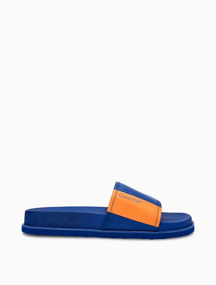 Calvin Klein Mackee Colorblock Slide