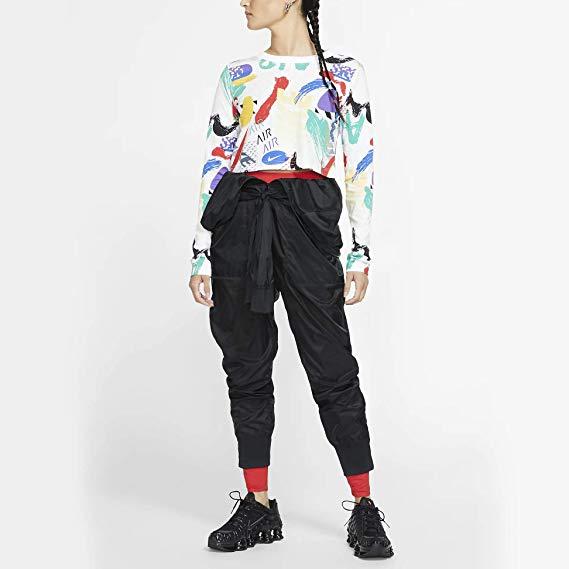 Nike Sportswear Women's Long-Sleeve Crop Top on jodycruise
