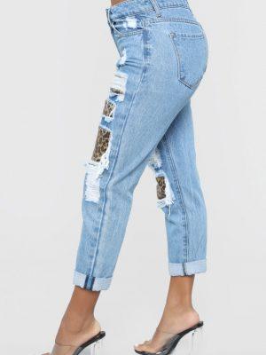 Distress To Impress Boyfriend Jeans