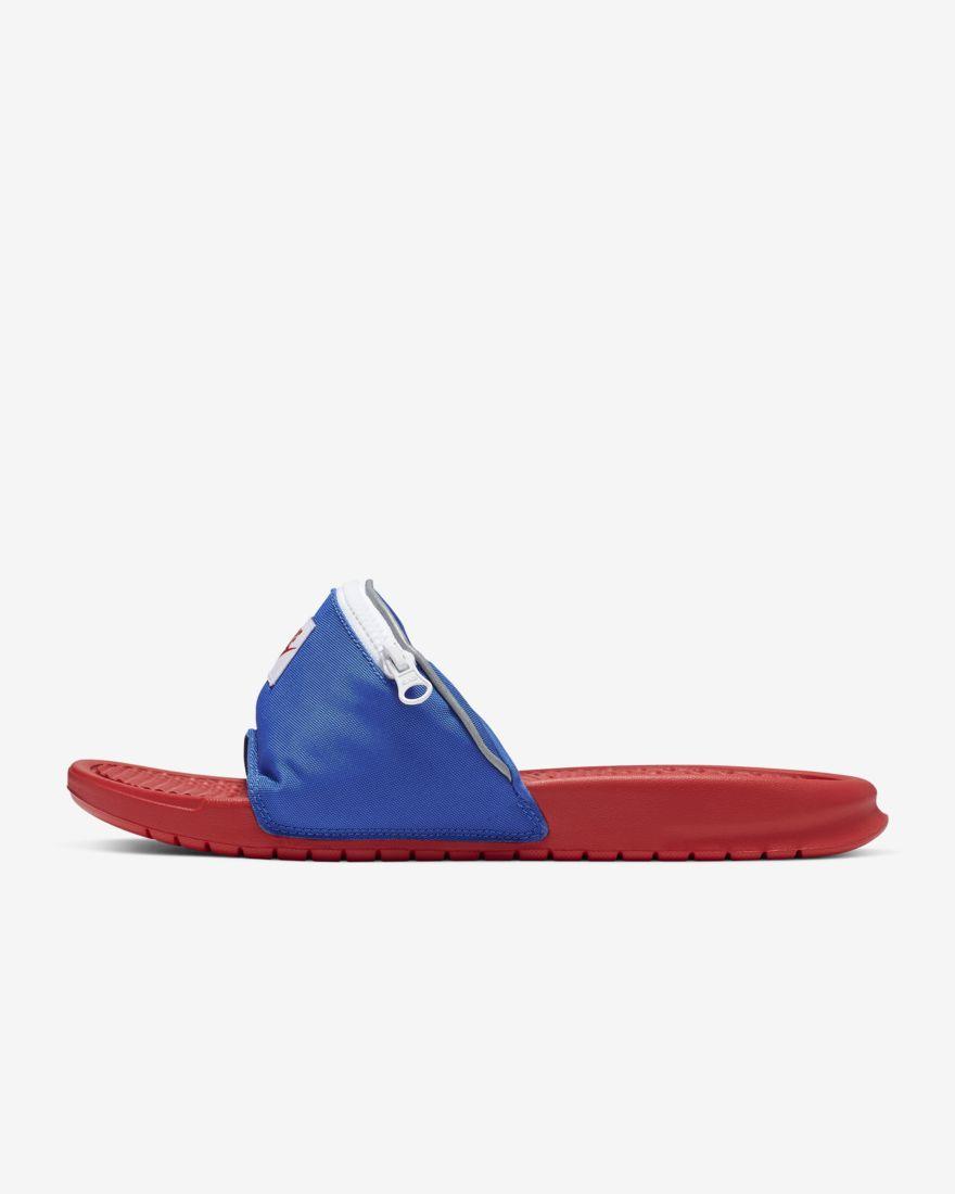 Nike Benassi JDI Fanny Pack on jody cruise