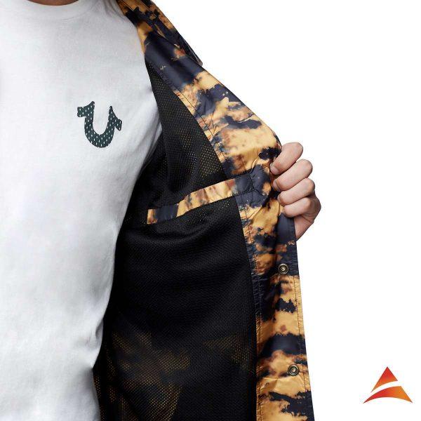 Allover Print Coach Jacket
