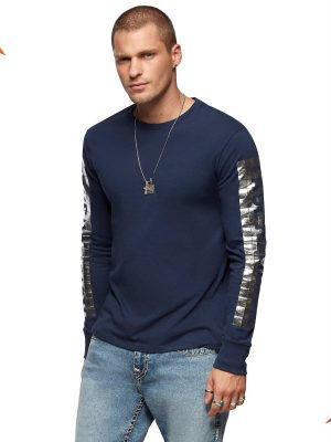Disco true LS crew neck shirt 1