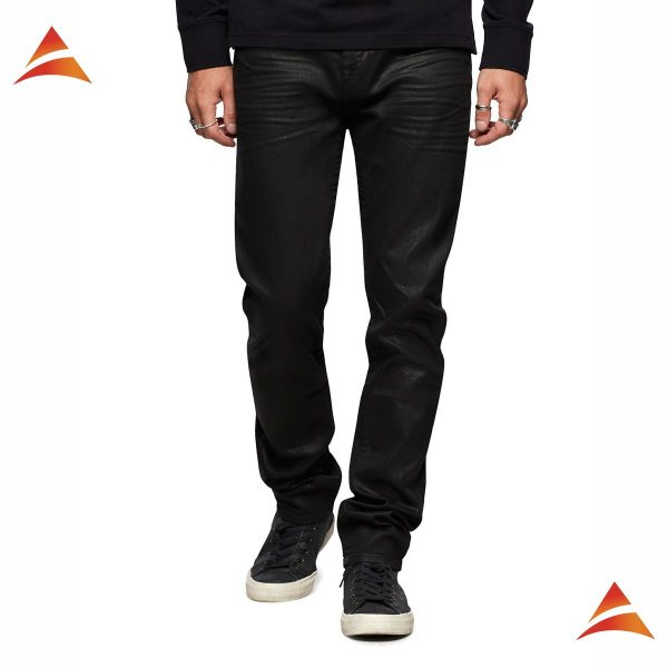 Rocco Skinny Coated Jean
