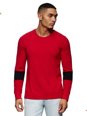 Tailored sport LS crew neck shirt