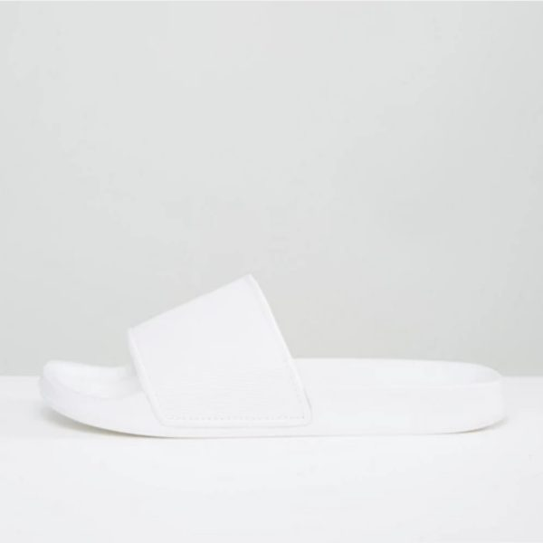 ASOS Design Sliders - White