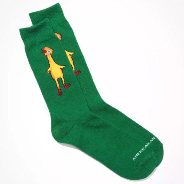 American Eagle Chicken Crew socks