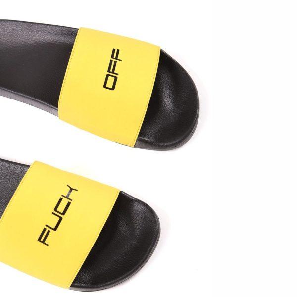 Fashion Nova Slide -Yellow/combo