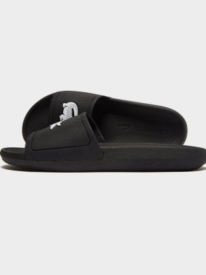 Lacoste Croco Slide -Black