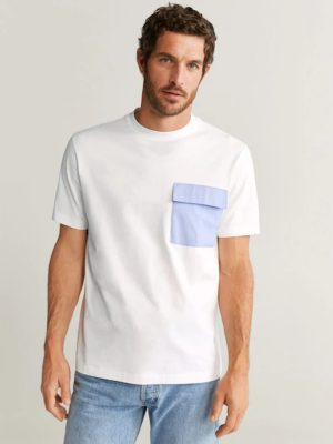 Mango Short Sleeve T-shirt – White
