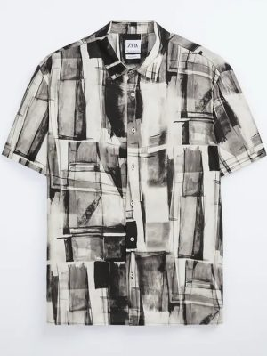 Zara Abstract Print Shirt