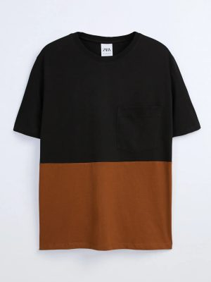 Zara Color block T-shirt
