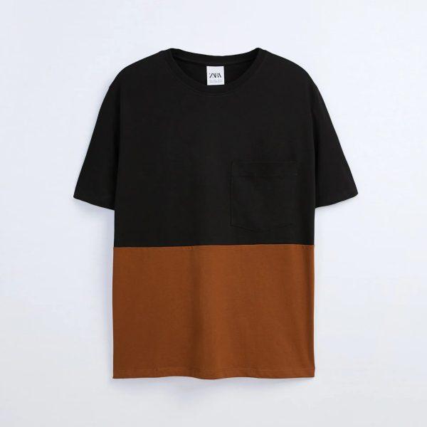 Zara Color block T-shirt