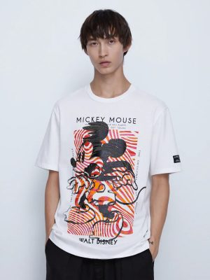 Zara Mickey Mouse Disney T-shirt