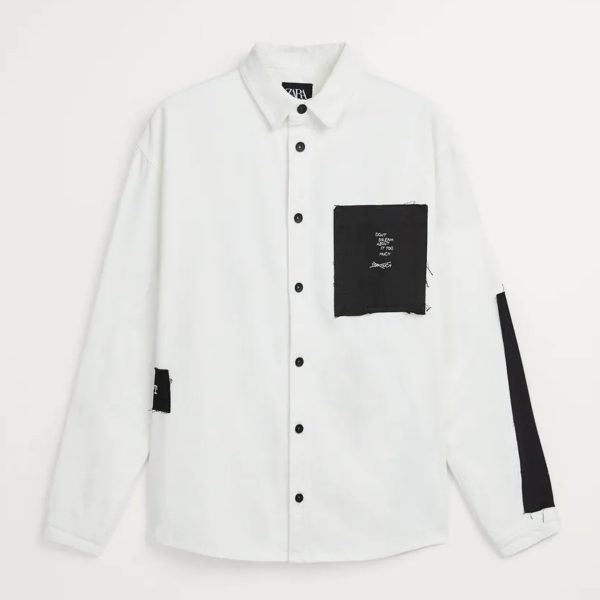 Zara Overshirt with Patches