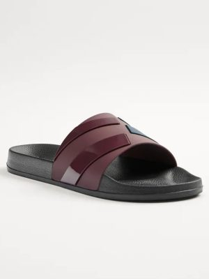 Zara Striped Slide