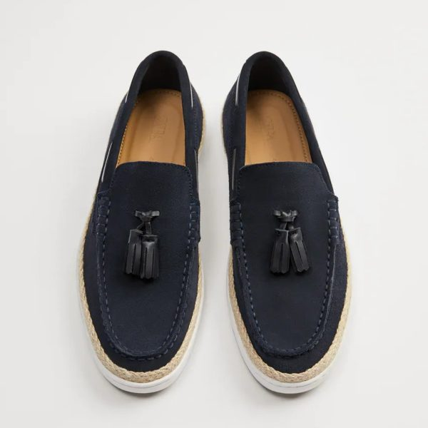 Zara Tasseled Leather Deck Shoe