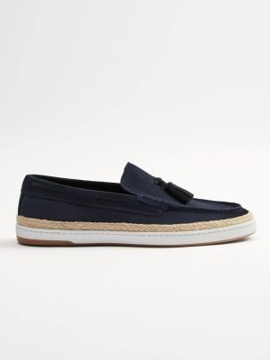 Zara Tasseled Leather Deck Shoe