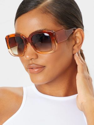 Pretty little thing Oversized square frame sunglasses