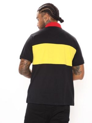 FashionNova Clean Break Short Sleeve Polo