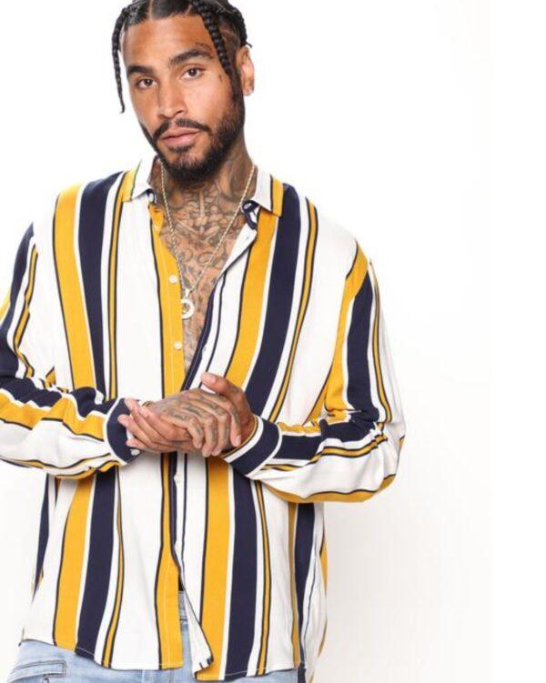 FashionNova Long Sleeve Woven Top