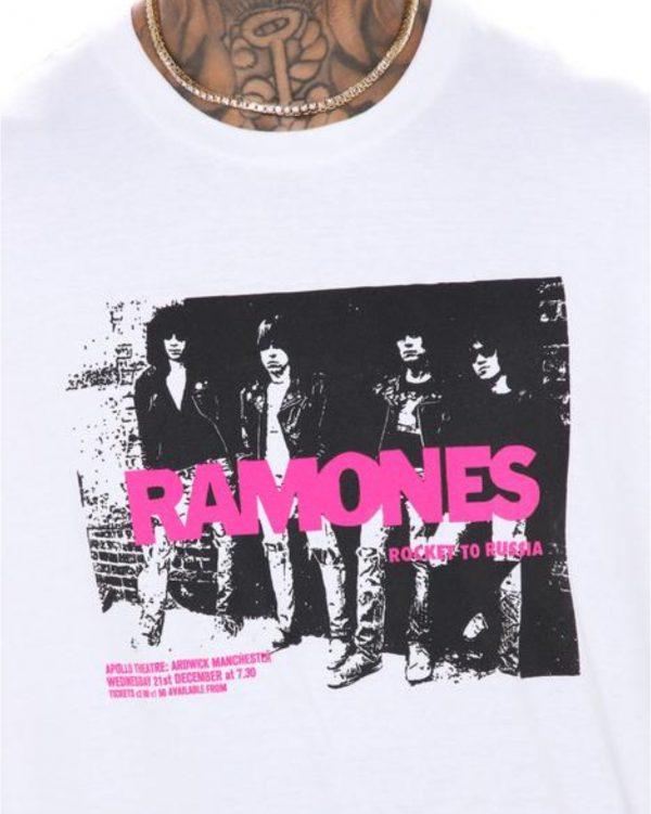 FashionNova Ramones Rockaway Beach Short Sleeve Tee