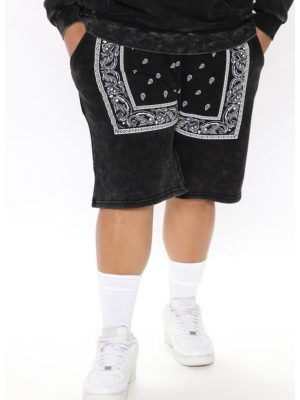 FashionNova Western Short - Black/White