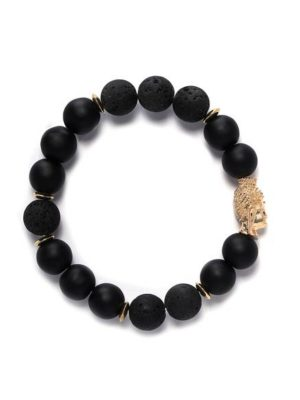 FashionNova Men's beaded bracelet