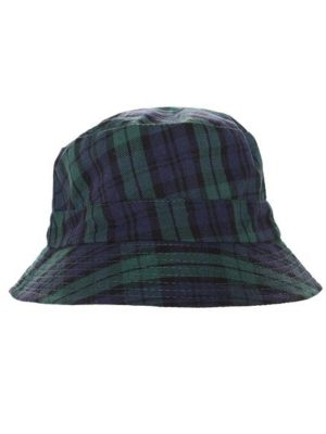 Travis plaid bucket hat 2